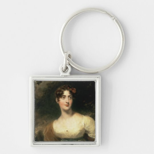 Portrait of Lady Emily Harriet Wellesley-Pole Keychain