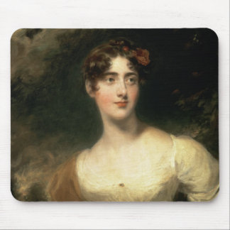 Portrait of Lady Emily Harriet Wellesley-Pole Mouse Pad