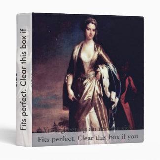 Portrait Of Lady Mary Wortley Montagu,  By Jonatha Binders