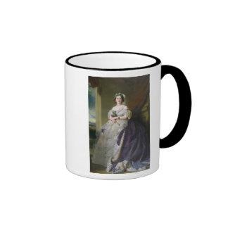 Portrait of Lady Middleton , 1863 Ringer Coffee Mug