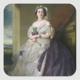 Portrait of Lady Middleton , 1863 Square Sticker
