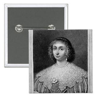 Portrait of Lady Viscountess Falkland Pinback Buttons