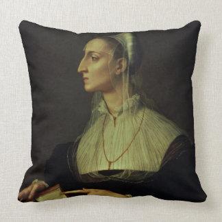 Portrait of Laura Battiferri, c.1555-60 (panel) Pillows