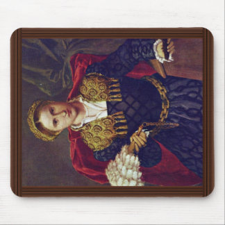 Portrait Of Laura Da Pola Wife Of Febo Da Brescia. Mouse Pads