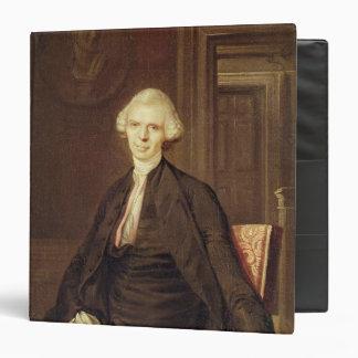 Portrait of Laurence Sterne Vinyl Binders