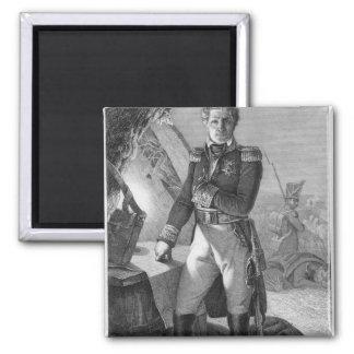 Portrait of Laurent de Gouvion Saint-Cyr Magnet