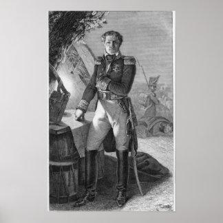 Portrait of Laurent de Gouvion Saint-Cyr Poster