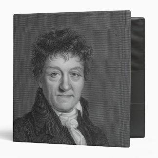 Portrait of Lazare Nicolas Marguerite Carnot Binder