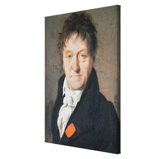 Portrait of Lazare Nicolas Marguerite Carnot Canvas Print