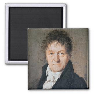 Portrait of Lazare Nicolas Marguerite Carnot 2 Inch Square Magnet