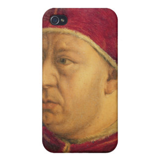 Portrait of Leo X Cases For iPhone 4