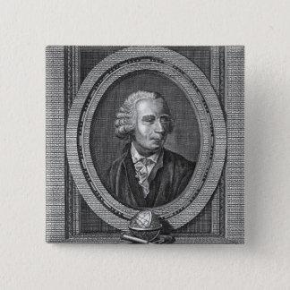 Portrait of Leonard Euler Pinback Button