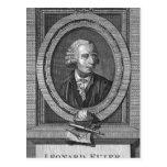 Portrait of Leonard Euler Postcard