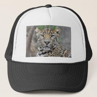 Portrait of Leopard Trucker Hat