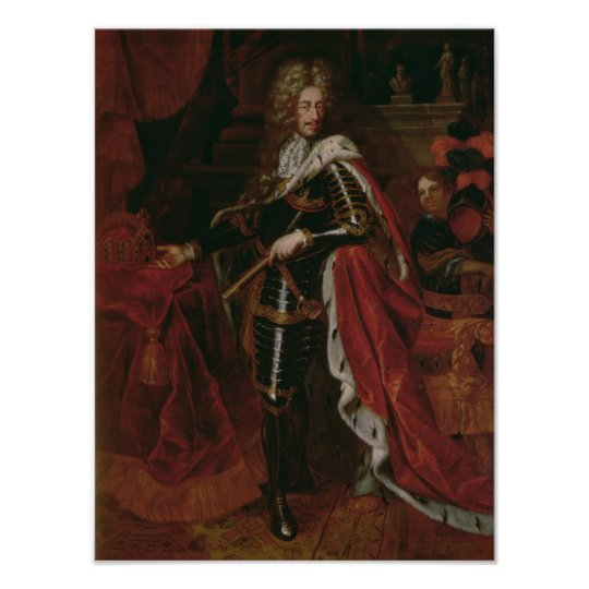 Portrait of Leopold I, Holy Roman Emperor Poster