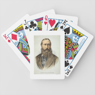 Portrait of Leopold II (1835-1909), King of Belgiu Bicycle Playing Cards