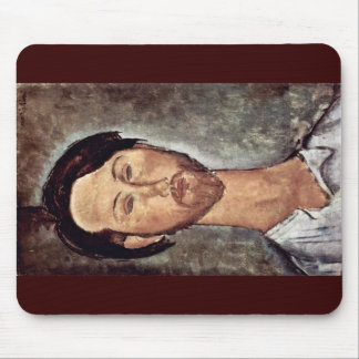 Portrait Of Leopold Zborowski By Modigliani Amedeo Mouse Pad