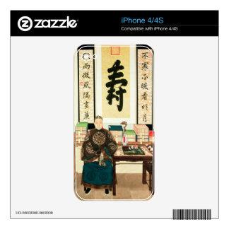 Portrait of Li-Lieu Ying, Empress Tzu-Hsi's Great Skin For iPhone 4