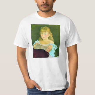 Portrait of Lina Campineanu by Edouard Manet T-Shirt
