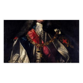 Portrait of Lionel Sackville by Joshua Reynolds Double-Sided Standard Business Cards (Pack Of 100)