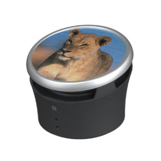Portrait Of Lioness (Panthera Leo) Bluetooth Speaker