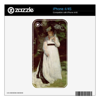 Portrait of Lise, 1867 iPhone 4S Decals
