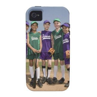 Portrait of little league teams vibe iPhone 4 cover