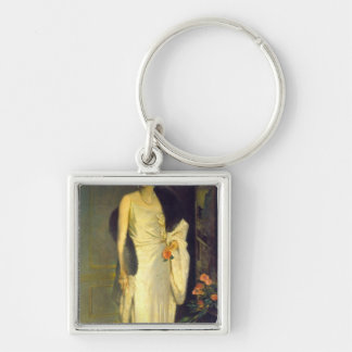 Portrait of Loelia, Duchess of Westminster Key Chain