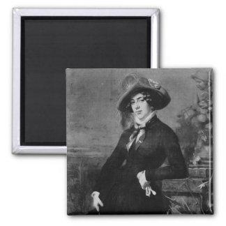 Portrait of Lola Montez , 1844 Magnet