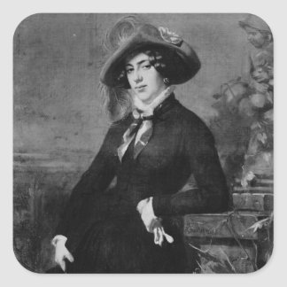 Portrait of Lola Montez , 1844 Sticker