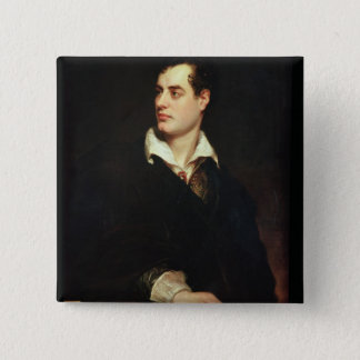 Portrait of Lord Byron (1788-1824) (oil on canvas) Button