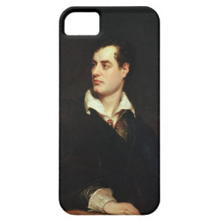 Portrait of Lord Byron (1788-1824) (oil on canvas) iPhone SE/5/5s Case