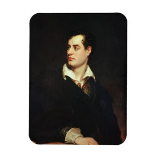 Portrait of Lord Byron (1788-1824) (oil on canvas) Magnet