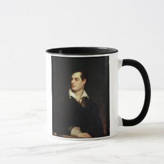 Portrait of Lord Byron (1788-1824) (oil on canvas) Mug