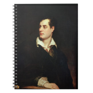 Portrait of Lord Byron (1788-1824) (oil on canvas) Notebook