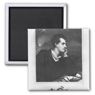 Portrait of Lord Byron Magnet