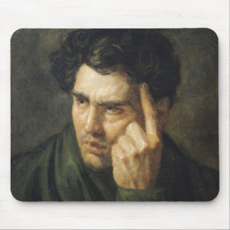 Portrait of Lord Byron Mouse Pad