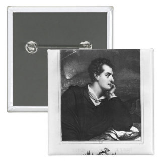 Portrait of Lord Byron Pinback Button