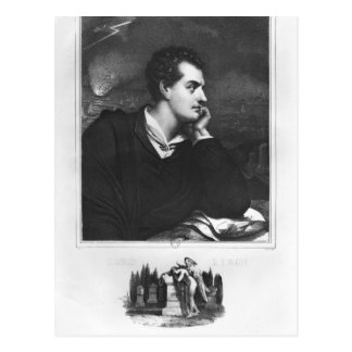Portrait of Lord Byron Postcards