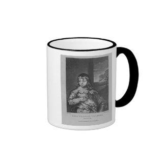 Portrait of Lord Francis Villiers Ringer Coffee Mug
