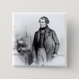 Portrait of Lord John Russell Pinback Button