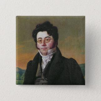 Portrait of Louis Auguste Baudelocque Button