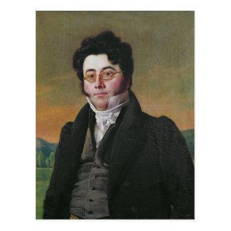 Portrait of Louis Auguste Baudelocque Postcard