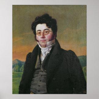 Portrait of Louis Auguste Baudelocque Poster