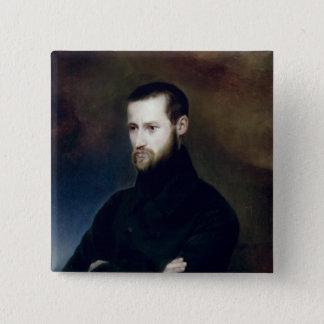 Portrait of Louis-Auguste Blanqui  c.1835 Button