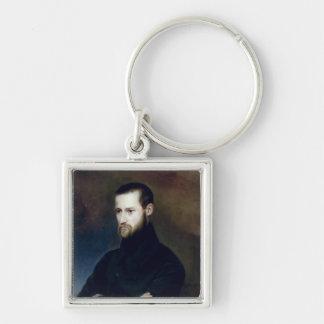 Portrait of Louis-Auguste Blanqui  c.1835 Keychain