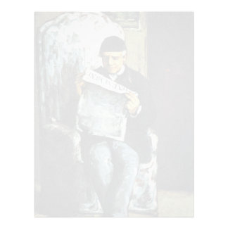 Portrait Of Louis-Auguste Cézanne, The Father Of T Letterhead