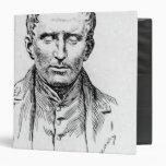 Portrait of Louis Braille Binder