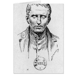 Portrait of Louis Braille Card