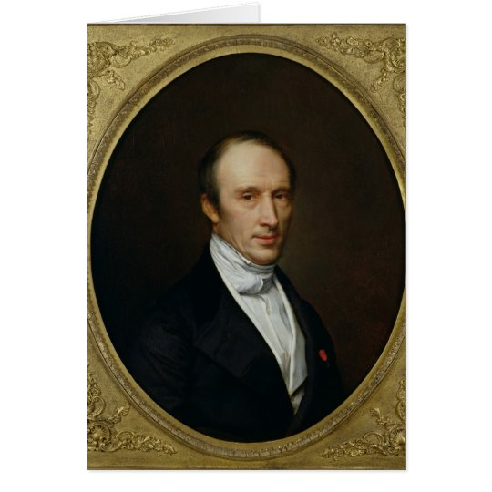 Portrait of Louis Cauchy Card